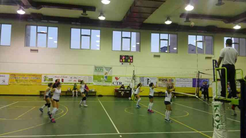 Volley, la PM Volley Potenza si arrende al Brindisi