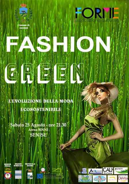 Questa sera all'Arena Sinni serata di moda con Fashion Green