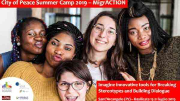 "A Sant'Arcangelo il ""City of Peace Summer Camp 2019"""