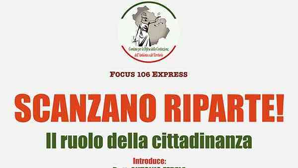 scanzano riparte
